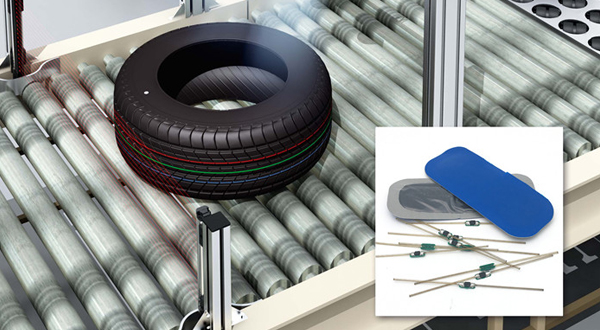 New Ideas: Put the RFID Tire Tag Use In  RFID Smart Tire Industry